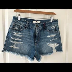 Hollister high rise festival shorts